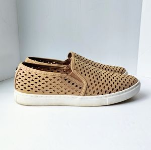 STEVE MADDEN Zeena Cutout Slip-On Sneakers size 10